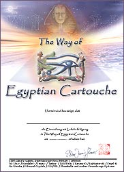 Zertifikat - The Way of Egyptian Cartouche
