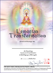 Zertifikat - Lemurian Transformation